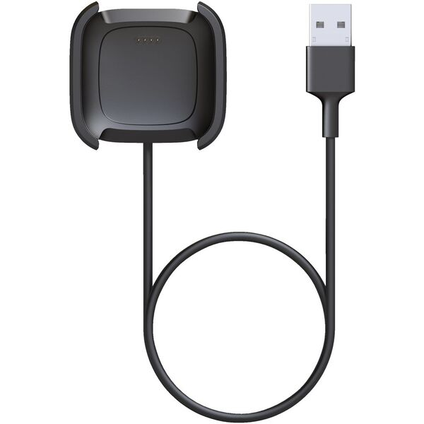 Fitbit Versa 2 Charging Cable Black