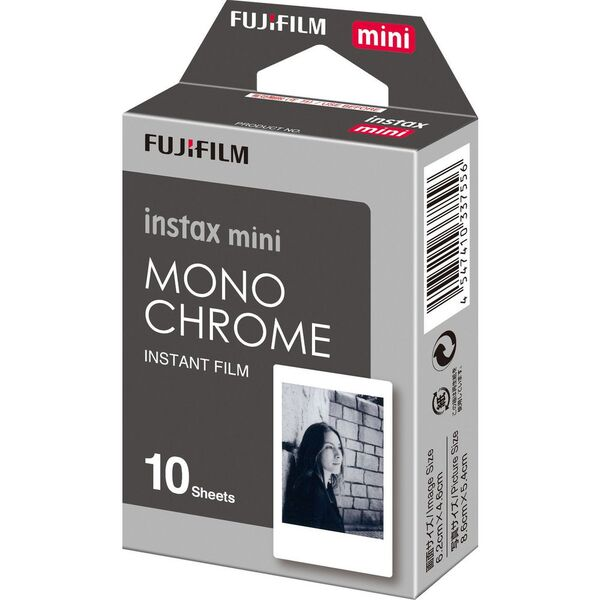 Fujifilm 10 Pack Instax Mini Monochrome Film