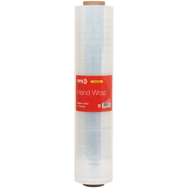 PPS Cast Hand Wrap 500mm x 375m x 17um Clear