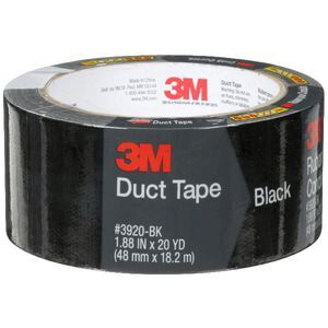 3M Duct Tape 48mm x 18 2m Black