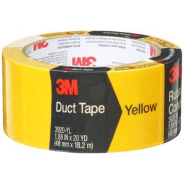 3M Duct Tape 48mm x 18.2m Yellow