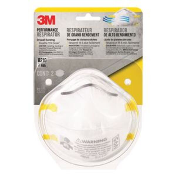 3M P2 Rated Respirator 2 Pack