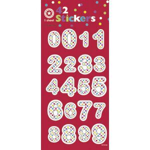 Artwrap Stickers Spotty Numbers