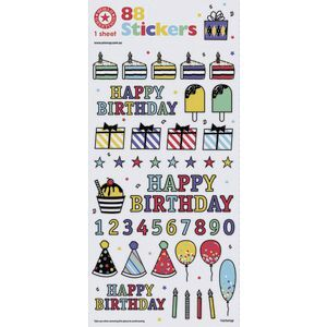 Artwrap Stickers Birthday Fun
