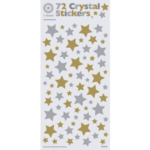 Artwrap Crystal Stickers Glitter Stars