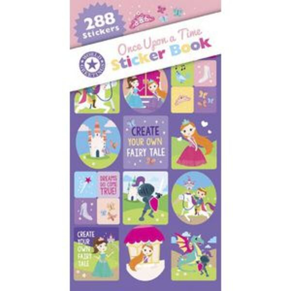 Artwrap Sticker Book Once Upon A Time