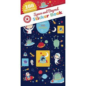 Artwrap Sticker Book Space and Beyond