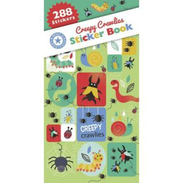 Artwrap Sticker Book Creepy Crawlies