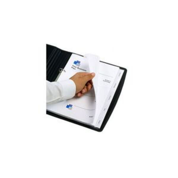 Marbig A4 Transparent Divider with 5 Tab View Tab