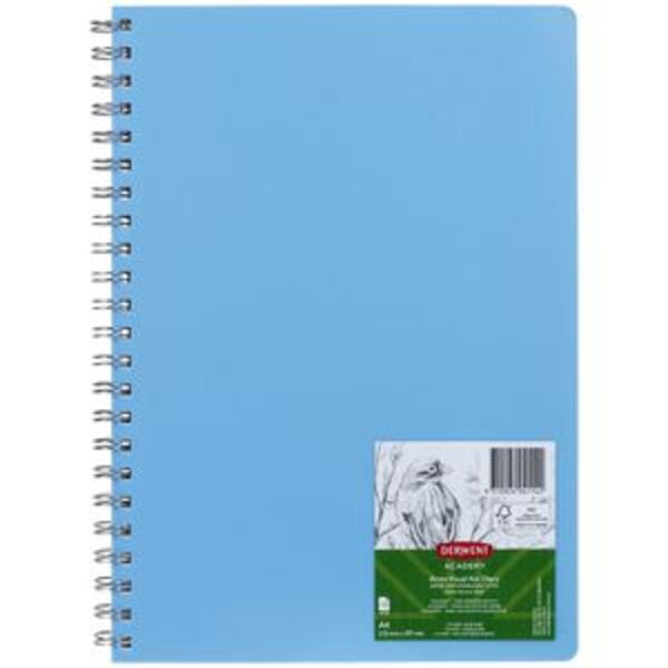 Derwent Academy Visual Art Diary 110gsm 120 Pages A4 Blue