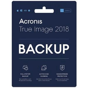 Acronis True Image 2018 1 PC Card