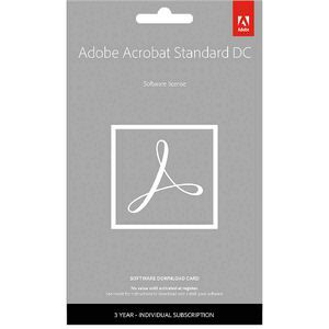 Adobe Acrobat Standard 3 Year PC Card