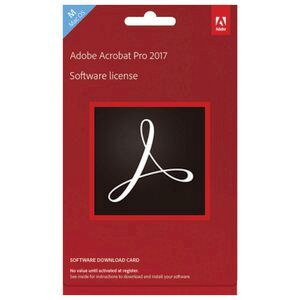 Adobe Acrobat Pro 2017 Mac Edition Download