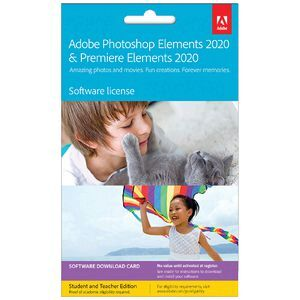 Adobe Photoshop & Premiere Elements 2020 Education 1 Device