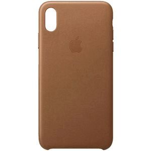 Apple iPhone XS Max Leather Case Brown
