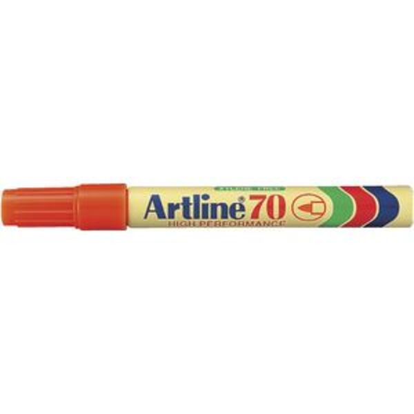 Artline 70 Permanent Marker Orange