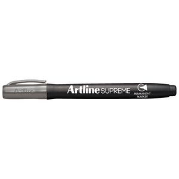 Artline Supreme Permanent Bullet Marker Grey