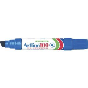 Artline 100 Jumbo Permanent Marker Blue