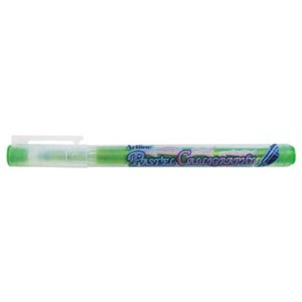 Artline Calligraphy Pen Pastel Lime Green
