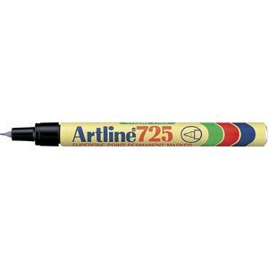Artline 725 Permanent Marker Bullet Black
