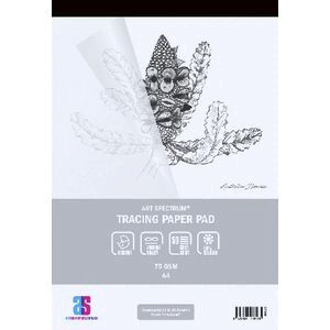 Art Spectrum A4 Tracing Pad 75gsm 50 Sheets