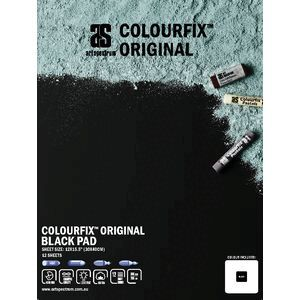 Art Spectrum Colourfix Pad 30 x 40cm Original Black