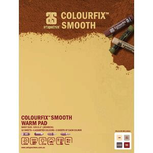 Art Spectrum Colourfix Pad 30 x 40cm Smooth Warm