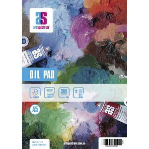 Art Spectrum A5 Oil Pad 300gsm 12 Sheets