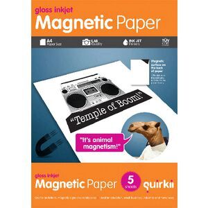 Quirkii A4 Magnetic Paper 5 Sheets