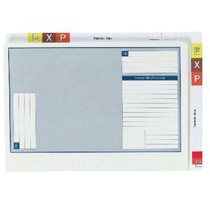 Avery Twin Tab Lateral Note Files 35 mm Expansion 100 Pack