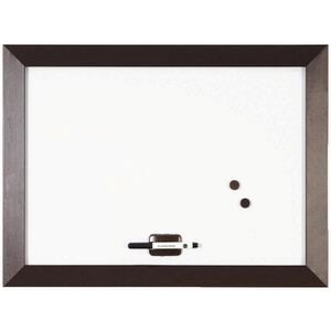 Bi-Office Kamashi Whiteboard 600 x 450mm Chocolate