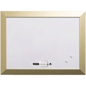Bi-Office Kamashi Whiteboard 600 x 450mm Gold