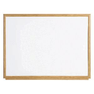 Bi-office Executive Whiteboard Oak Frame 900 x 600mm