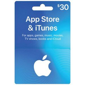 Apple iTunes Gift Card $30