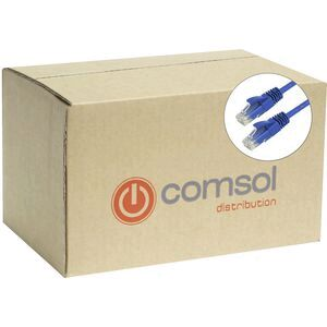Comsol RJ45 Cat 6 Patch Cable 1m Blue 48 Pack