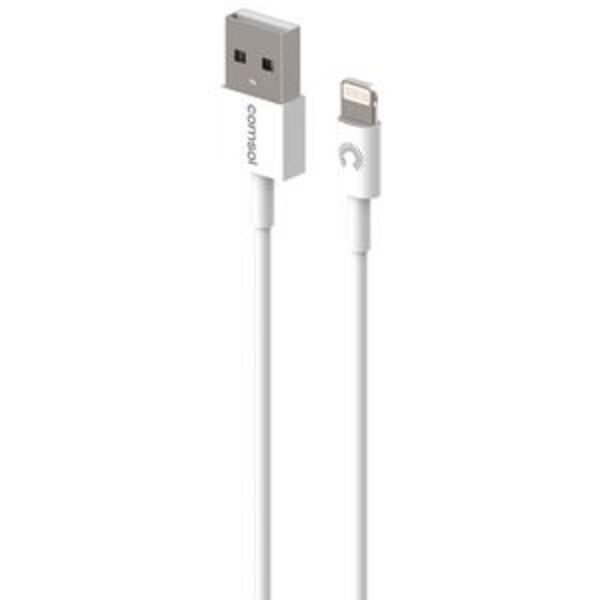Comsol Lightning to USB Cable 1.2m White