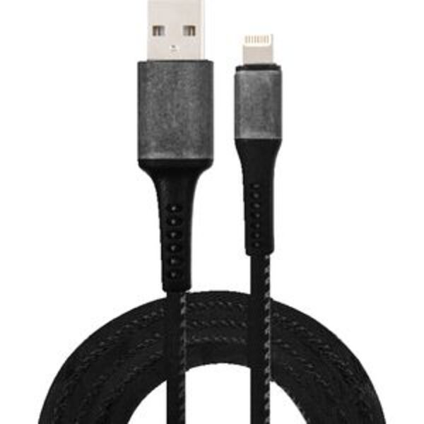 Comsol Rugged Lightning to USB Cable 1.2m Black