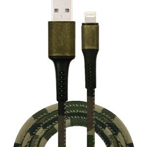 Comsol Rugged Lightning to USB Cable 1.2m Camouflage