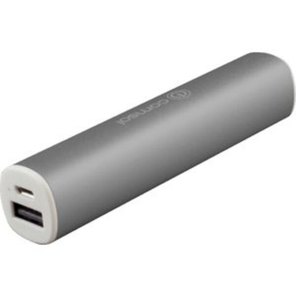 Comsol 2200mAh Aluminium Powerbank Metallic Grey