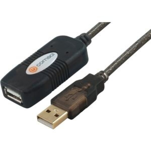 Comsol Male Type A to Female Type A USB 2.0 Cable 10m