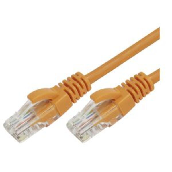 Comsol RJ45 Cat 6 Patch Cable 5m Orange