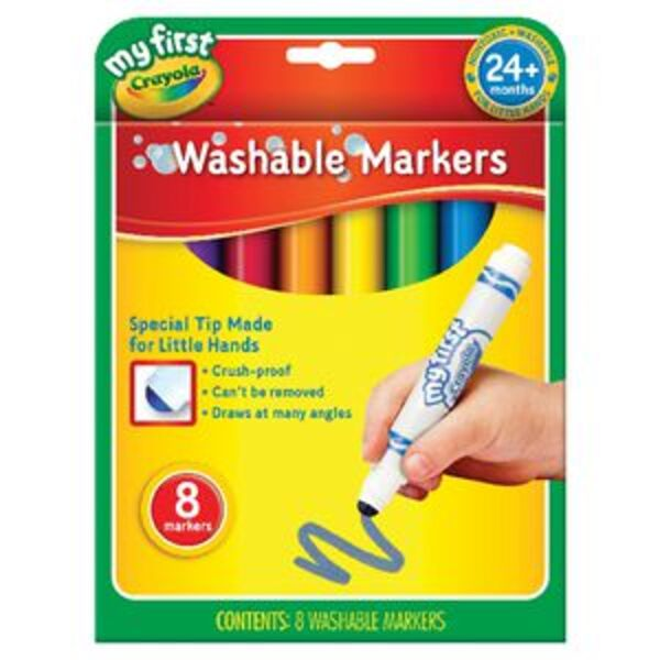 Crayola My First Washable Markers 8 Pack