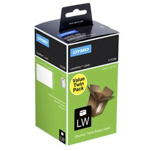 DYMO LabelWriter Shipping Labels Large 2 Roll Pack