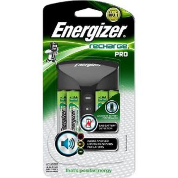Energizer Recharge Pro Charger for AA and AAA Batteries