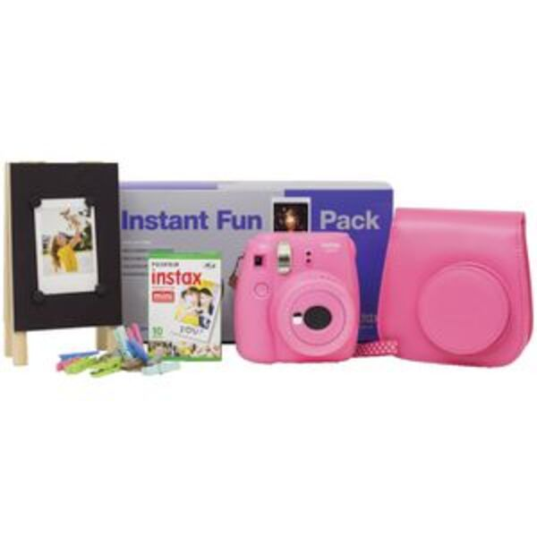 Instax Mini 9 Fun Pack Pink