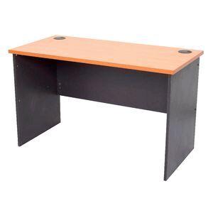 best sneakers c7069 7ef78 Furnx Open Straight Desk 1800 x 750mm Beech and Ironstone