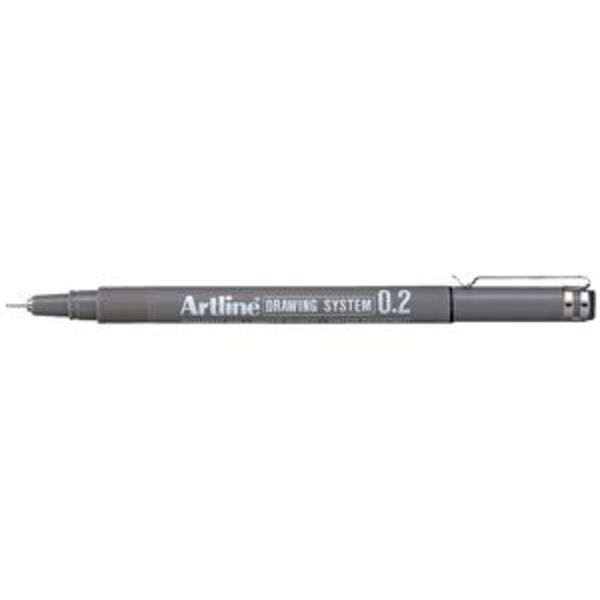 Artline 232 Drawing System Pen 0.2mm Black