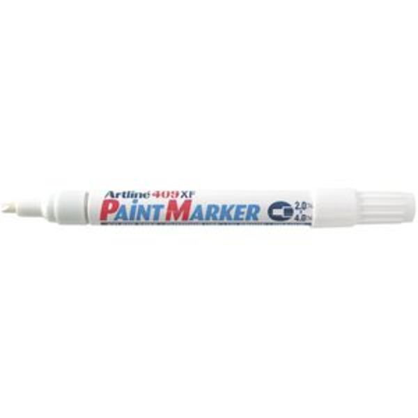 Artline 409 Paint Marker White