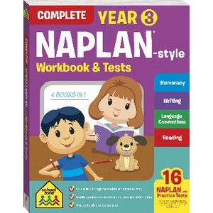 School Zone NAPLAN Year 3 Workbook
