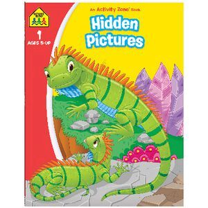 School Zone Hidden Pictures Activity Book 2020